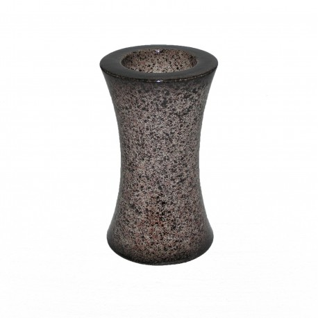 Vase céramique marron