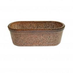 Jardinière céramique marron