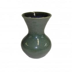Vase céramique vert boule