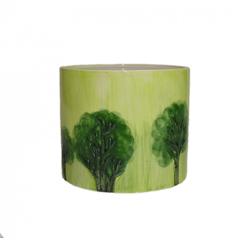 cache pot avec d cor arbre grand mod le. Black Bedroom Furniture Sets. Home Design Ideas
