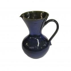 Vase cruche bleu