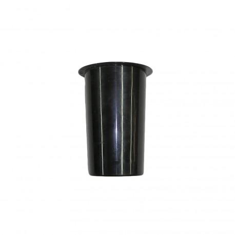 Vase en plastique droit, hauteur 16cm