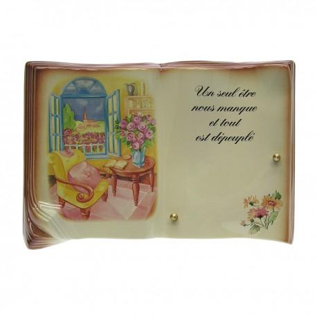 livre en céramique