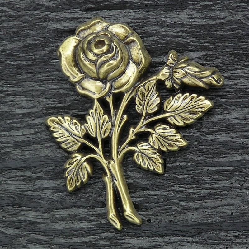 plaque fun raire en r sine noir bronze rose pierres blanches migennes fleurs. Black Bedroom Furniture Sets. Home Design Ideas