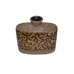 Vase céramique forme de gourde