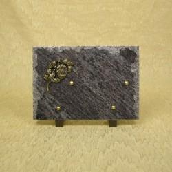 plaque avec bronze