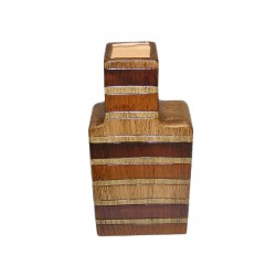 Vase céramique forme de bouteille