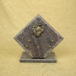 plaque losange