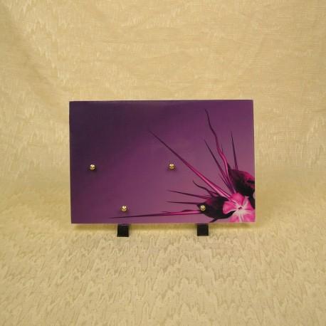 résine violet