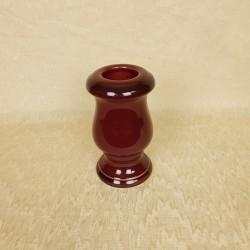 petit vase céramique rouge