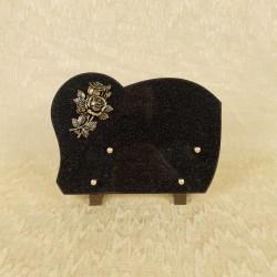 plaque granit noir