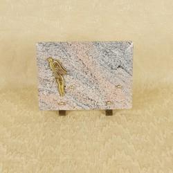 Plaque funéraire en granit