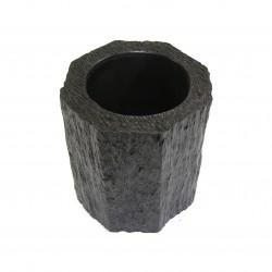 Vase résine octogonal